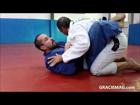 DJ Marcelinho da Lua em treino de Jiu-Jitsu com Luiz Dias