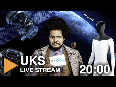 Odhalený Feri, změny na OnlyFans, humanoid od Tesly, Ryanair vs. Kiwi.com a další | UKS Live stream