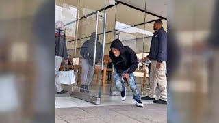 Apple Store Robbery In Corte Madera Caught on Camera