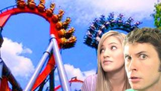 CRAZY ROLLERCOASTER VLOG #4 - BLUE DRAGON CHALLENGE!!