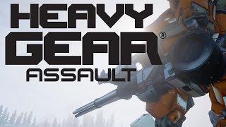 Heavy Gear Assault - Steam Early Access Gameplay Trailer