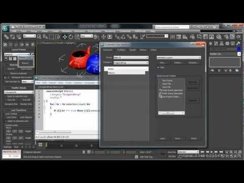 Simple Maxscript Tool Creation - 3DS Max Video Tutorial