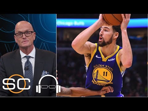 Klay Thompson on breaking the NBA 3-point record, passing Warriors' teammate Steph Curry | SVP on SC
