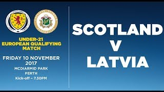 Scotland U21 vs Latvia U21 full match