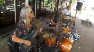 Rebecca Johnson Band *CISSY STRUT* - CON SETTINERI - DRUM SOLO* Time & Tide Hotel 16/11/14