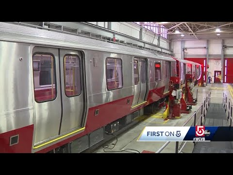 First tour of new MBTA Red Line cars