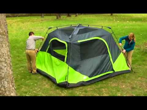 Ozark Trail 6-Person Instant Cabin Tent - Barraca Instantanea para 6 pessoas - YouTube & Ozark Trail 6-Person Instant Cabin Tent - Barraca Instantanea para ...