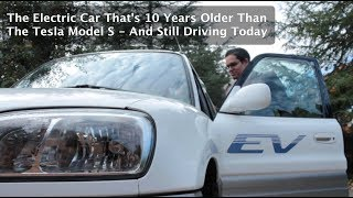 This Electric Car Is Ten Years Older Than The Tesla Model S -- And Still Driving Today!