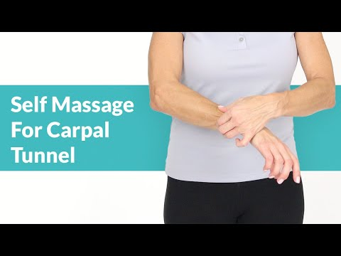 Self-Massage for Carpal Tunnel Pain