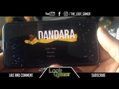 Gaming on the iPhone X -Dandara