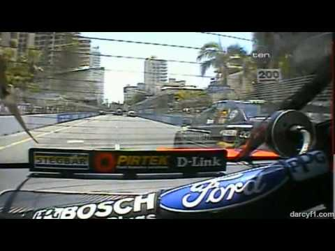 V8 Supercar Flashback - Marcos Ambrose Crashes (Gold Coast 2005)