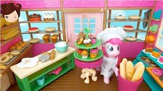 Pastelería Miniatura para Muñecas MLP LPS Lil Woodzez Pinypons- Tienda de Juguete