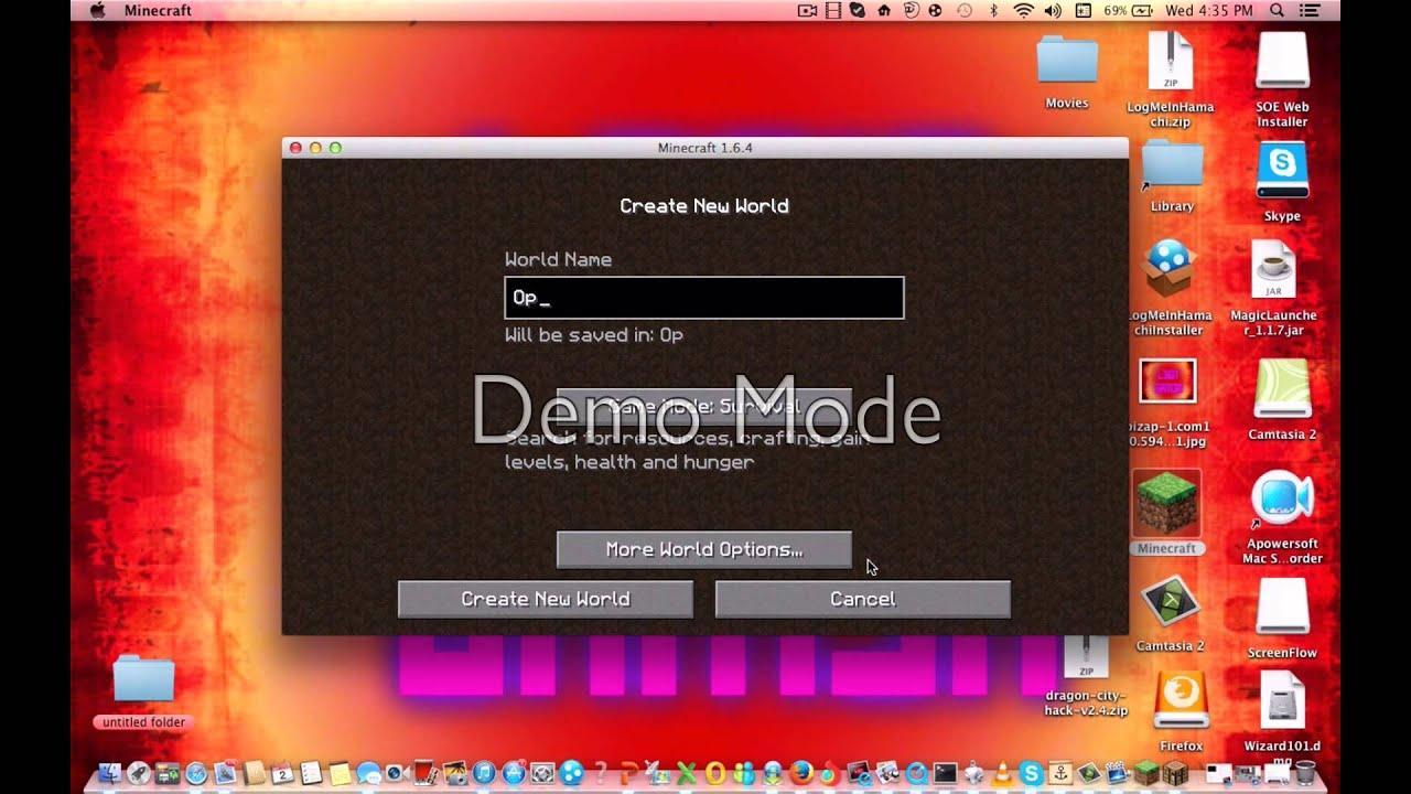 how to download optifine mac 1.6.4