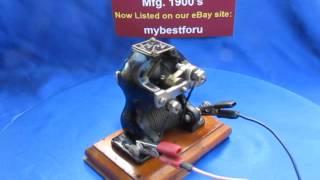 ajax little hustler 1900 s electric toy motor