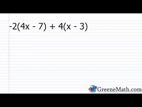 Algebra I Lesson 1: Variables and Expressions