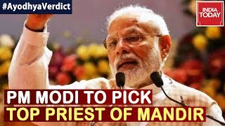 Ayodhya Verdict : PM  Modi To Pick Temple Trustee After SC Paves Way For Ram Mandir