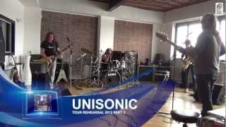 Unisonic Tour-Rehearsal Studio Footage 2012 Part 2