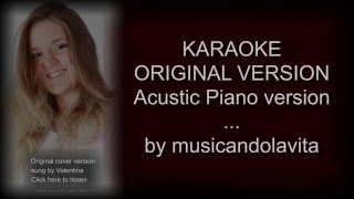 You're the one that I want (Acoustic piano version)- karaoke