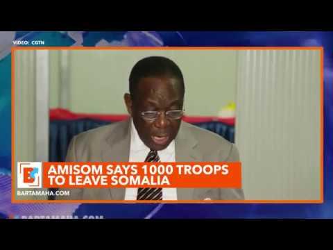 AMISOM Says 1,000 Troops to Leave Somalia