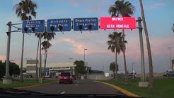 Driving into St. Petersburg-Clearwater International Airport (PIE)