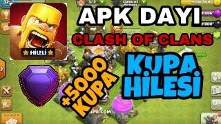 Apk Dayı Clash of Clans KUPA HİLESİ NASIL YAPILIR??