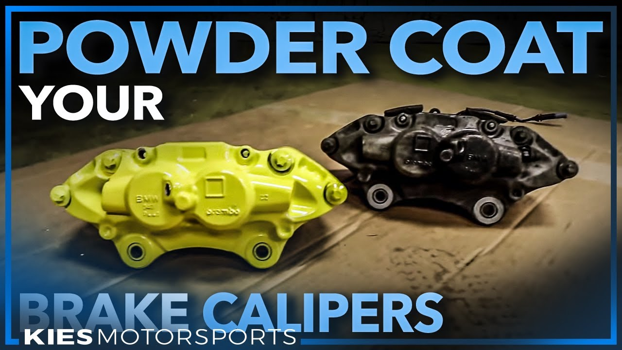 Beginners Guide on HOW TO POWDER COAT BRAKE CALIPERS, the right way! Brembo  Calipers from my F30 BMW