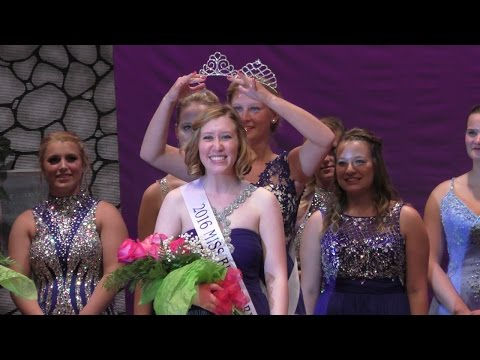 2016 Marshall County Blueberry Festival Scholarship Pageant - condensed