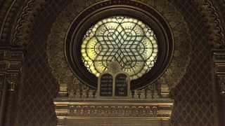 Inside the Spanish Synagogue (Španělská synagoga) Prague, Czech Republic