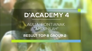 Download Video Aulia, Pontianak - Ampunilah (D'Academy 4 Top 8 Result Group 2) MP3 3GP MP4