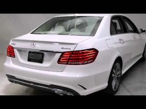 2016 Mercedes-Benz E-Class E350 4MATIC Sport - YouTube