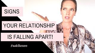 10 signs your relationship is falling apart. | Signs your relationship is ending