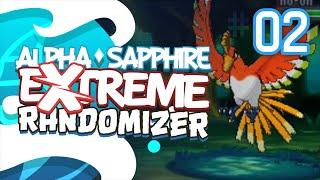 LEGENDS GALORE!! - Pokémon Alpha Sapphire Extreme Randomizer (Episode 2)