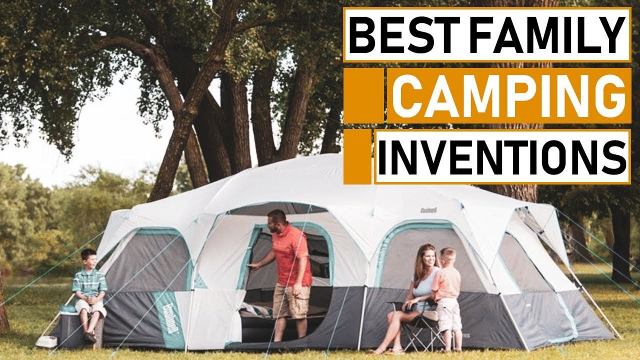 Amazing Family Camping Gadget & Gear Inventions