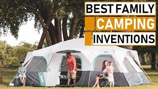 Top 10 Amazing Family Camping Gadget & Gear Inventions 2019