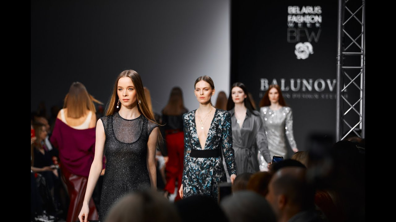 BELARUS FASHION WEEK FALL-WINTER 2019/20 : BALUNOVA Fashion Design Studio