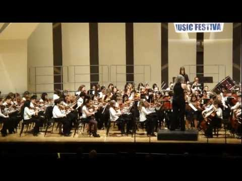Simple Gifts- All County Orchestra Festival 2012, Long Island, New York.MP4