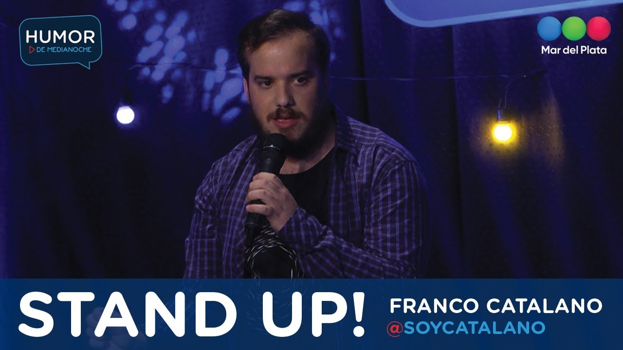 Stand Up - Franco Catalano en Humor de Medianoche