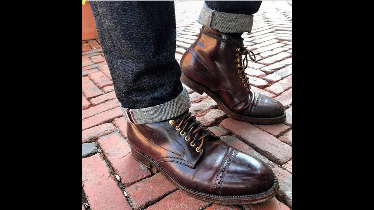 55b42351daa Alden Shell Cordovan Boot Review