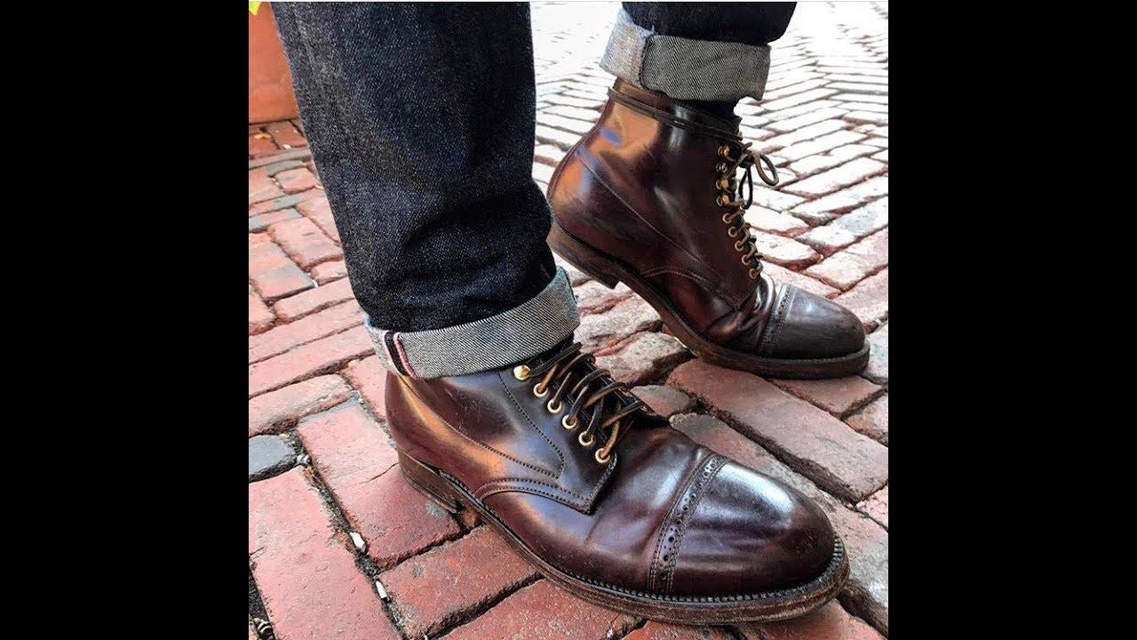 alden shell cordovan boot