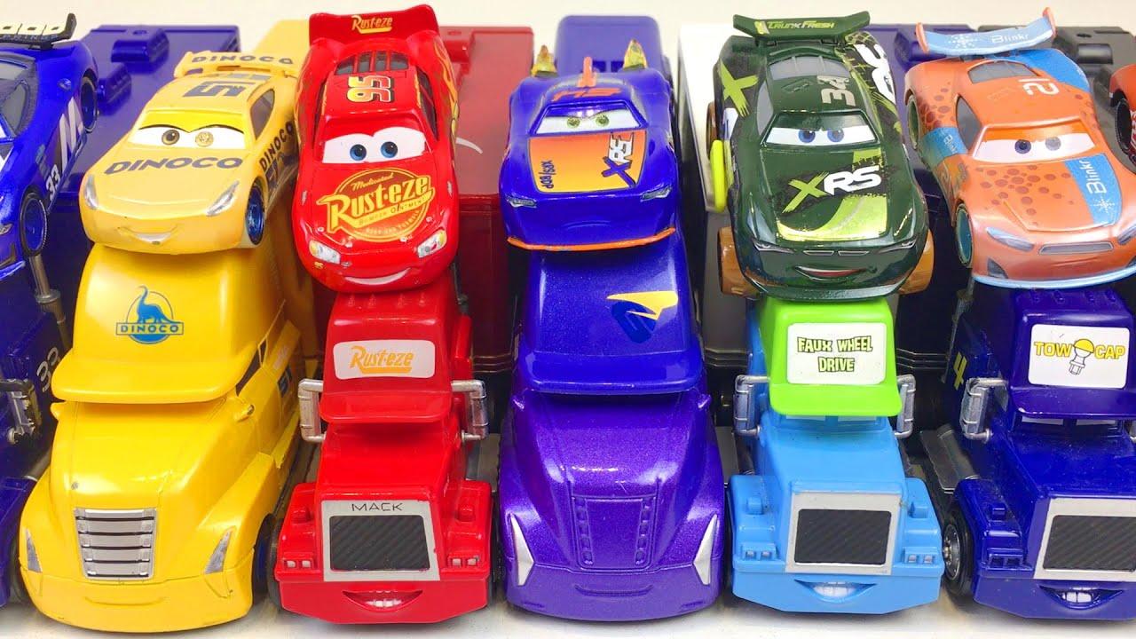 Disney Cars Toys Lightning McQueen & Trucks Learn Colors Best Toddler Learning