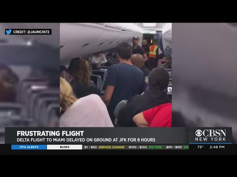 Delta Flight To Miami Delayed On Ground At JFK For 8 Hours