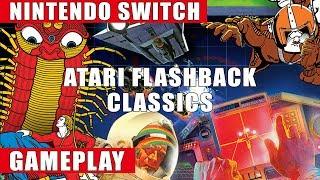 Atari Flashback Classics Nintendo Switch Gameplay