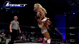 Knockout Championship Match:  Taryn Terrell vs. Brooke (May 1, 2015)