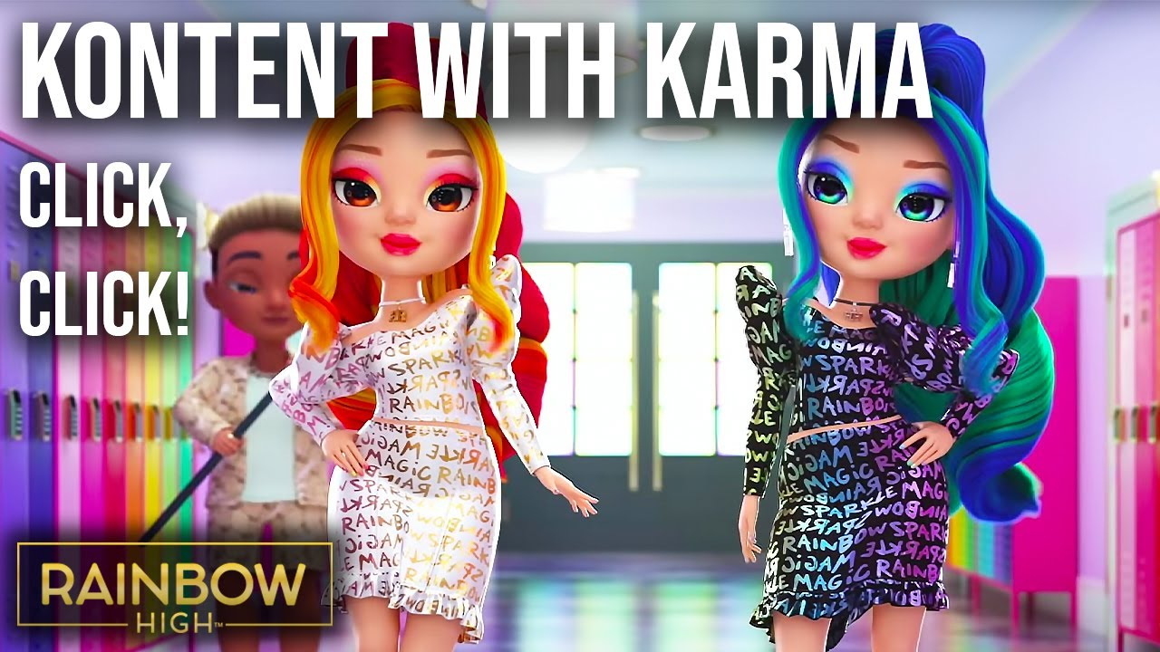 Click, Click! The Tea with the De'Vious Twins | Kontent with Karma Episode 3 | Rainbow High