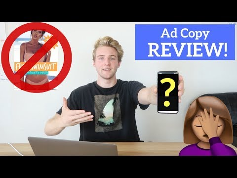 Reviewing Subscribers Ad Copy (Shopify Breakdown)