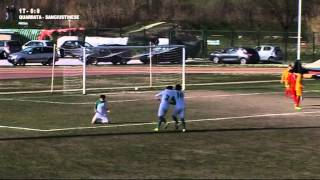 Quarrata Ol.-Sangiustinese 0-1 Eccellenza girone B