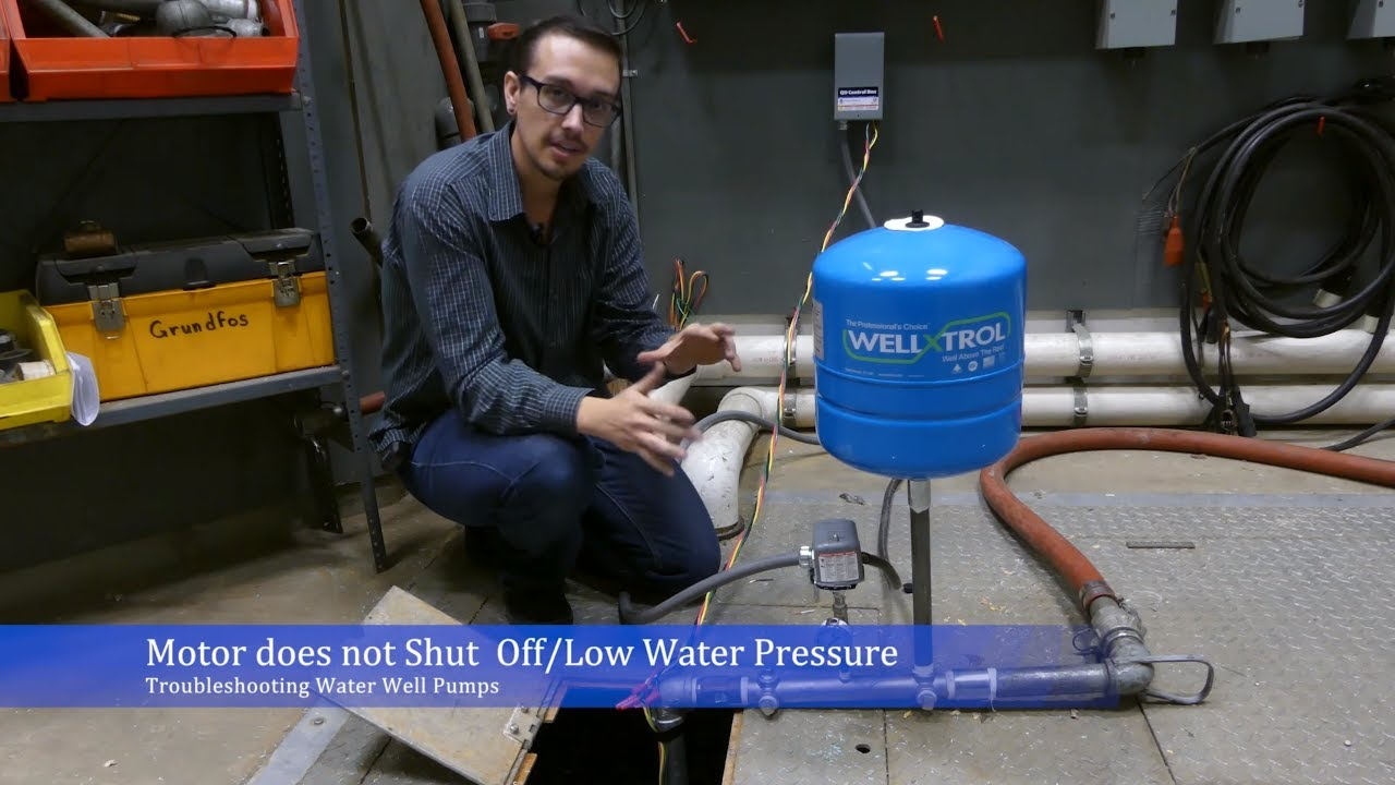 Troubleshoot: Water Well Pump Won't Shut Off