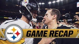 Steelers Heartbreaking Loss in New Orleans | Game Recap