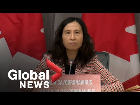 Coronavirus outbreak: Canadian health officials provide update on COVID-19 | LIVE
