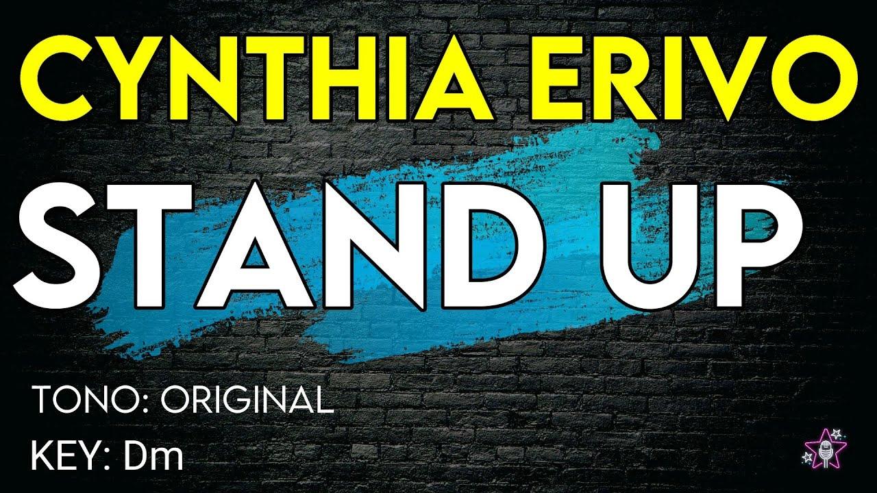 Cynthia Erivo  Stand Up  Karaoke Instrumental